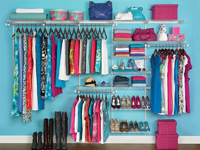 Clean closet elle